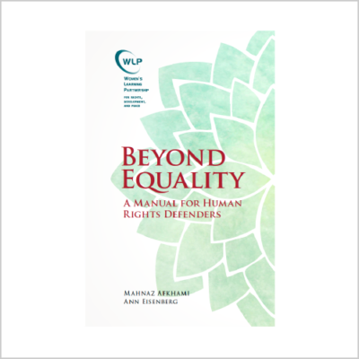 Beyond Equality: A Manual for Human Rights Defenders