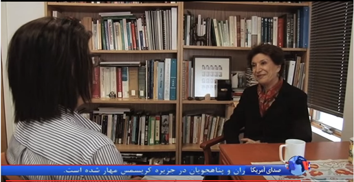 VOA Persian Interview: Mahnaz Afkhami on Marzieh Afkham (In Persian)
