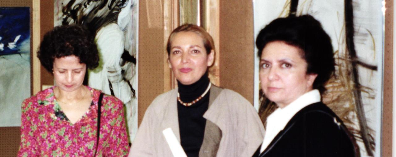 Nahid Rachlin, Farideh Lashai, and Goli Targhi