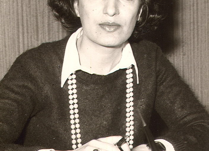 Mahnaz Afkhami at the WOI Office