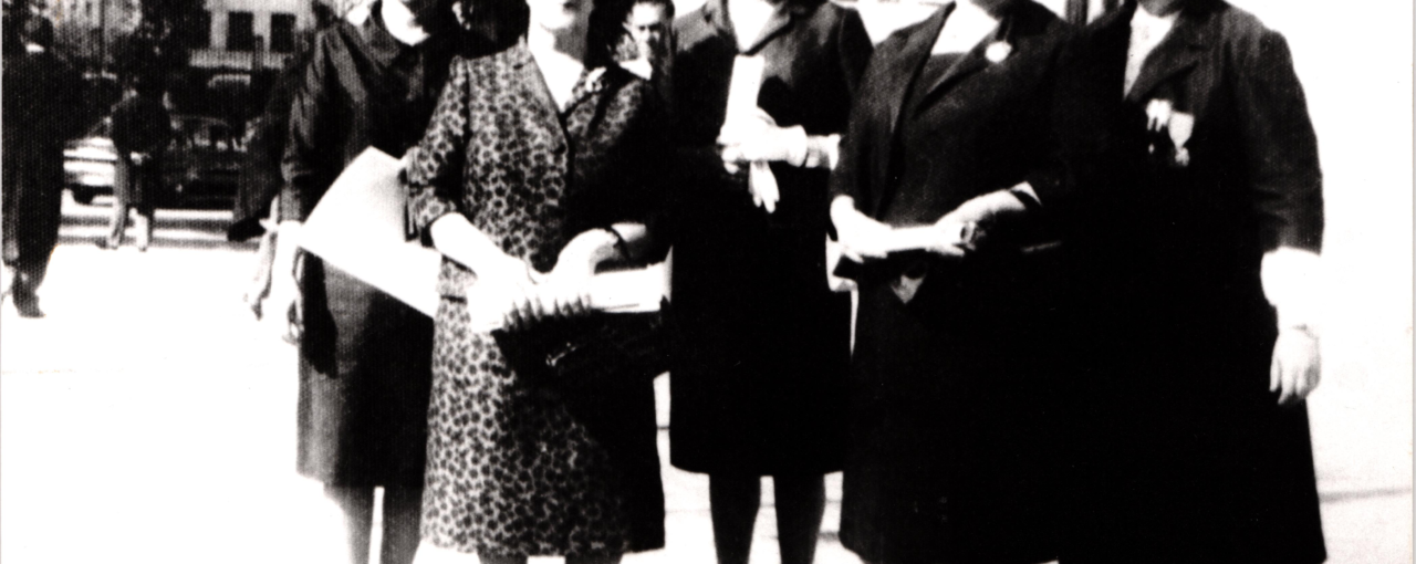 First Female Members of Iranian Parliament, 1964
