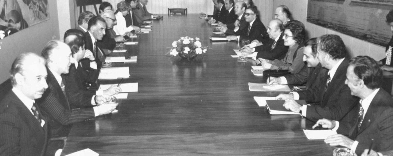 Mahnaz Meeting with Iranian Cabinet